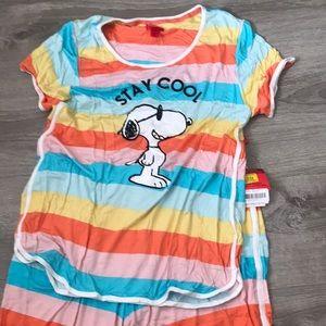Snoopy Pajamas Set